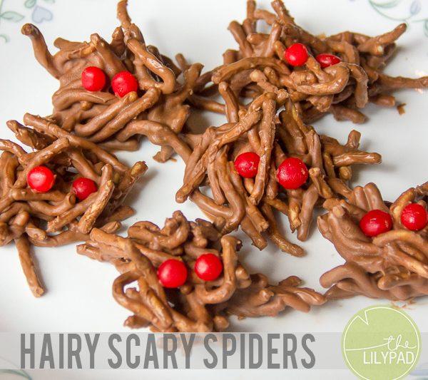 Hairy Scary Spiders Recipe