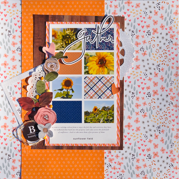 photo template, byoc, fall, hybrid, scrapbooking, layout, amber labau, paislee press,