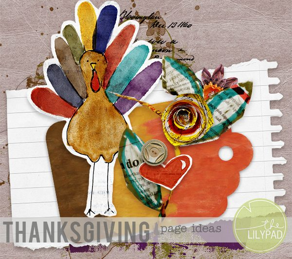 Thanksgiving Page Ideas