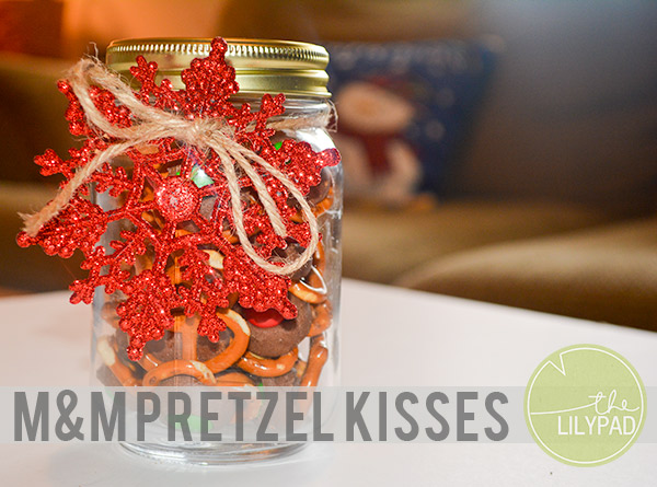 M&M Pretzel Kisses Recipe