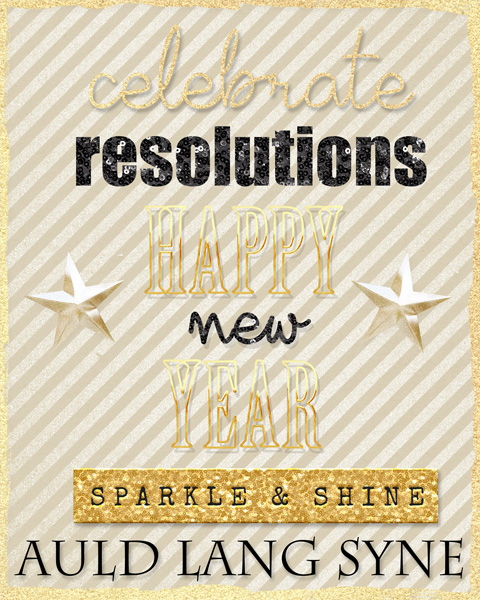 Happy NYE Printable to you!