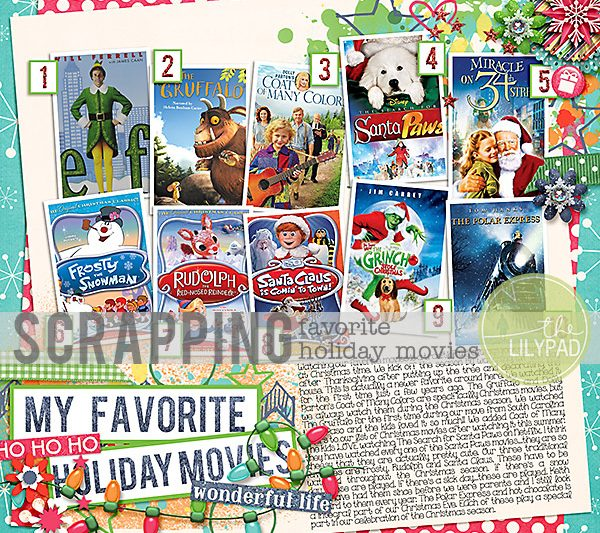 Scrapping Your Favorite Holiday Movies