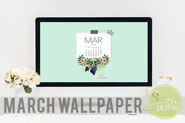 March Desktop Wallpaper