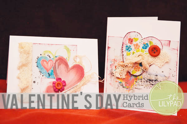 Valentine's Day Hybrid Cards