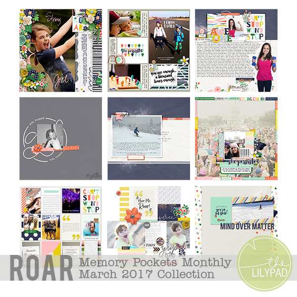 Memory Pockets Monthly March 2017 | Roar