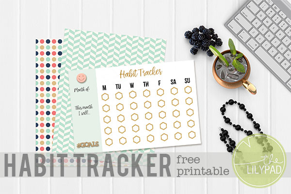 Habit Tracker {Free Printable}