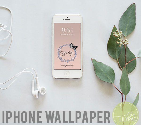 Spring iPhone Wallpaper