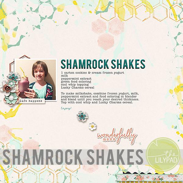 Shamrock Shakes Recipe