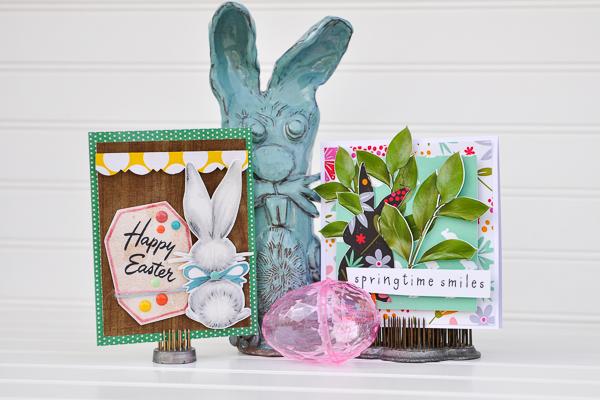 Hybrid Easter cards by Katrina Hunt