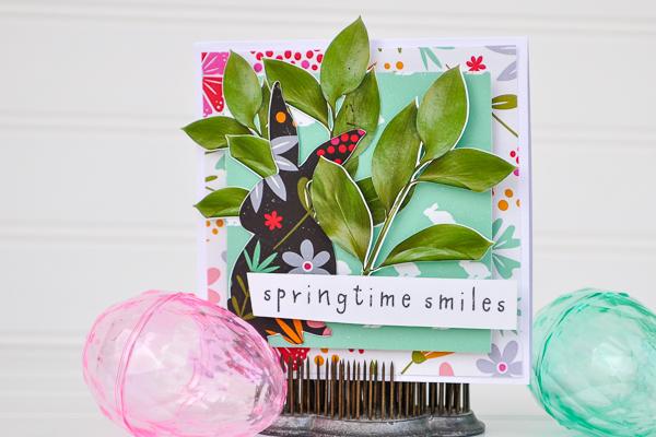 Hybrid Easter Card with Allison Pennington Little Bunny
