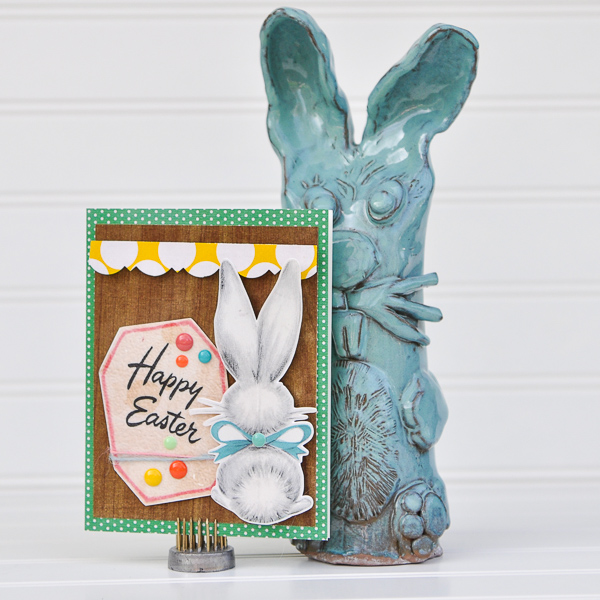 Hybrid Easter Card with Just Jaimee Eclectic Easter