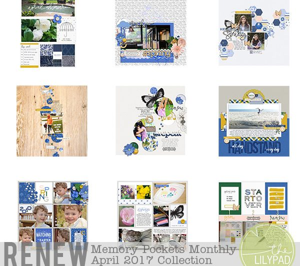 Memory Pockets Monthly April 2017 | Renew