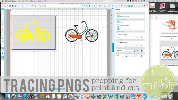 Tracing PNGS For Use In Hybrid Scrapbooking