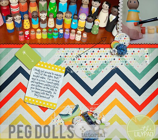 Wooden Peg Doll Tutorial
