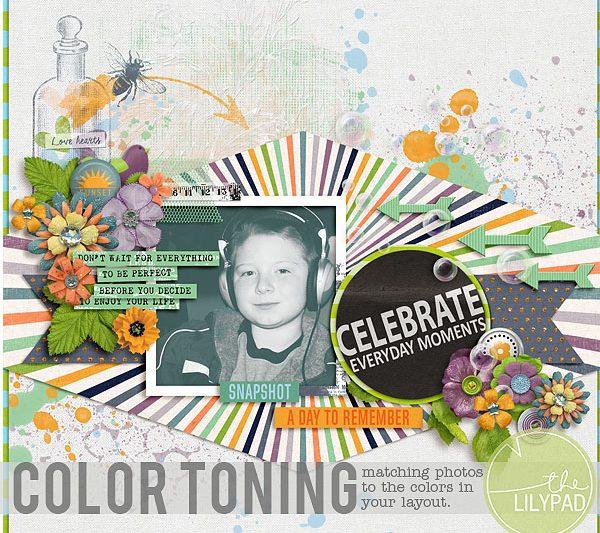 Color Toning Photos