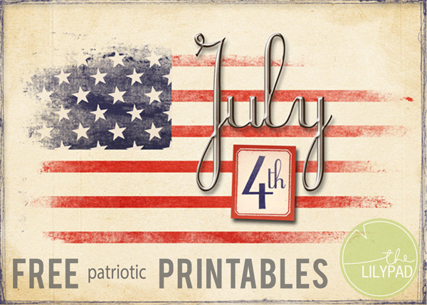 FREE July Printables!!