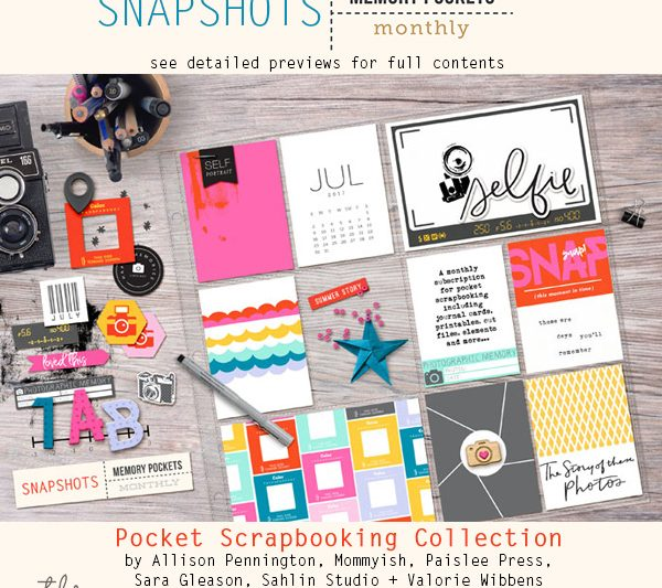 Memory Pockets Monthly: Snapshots