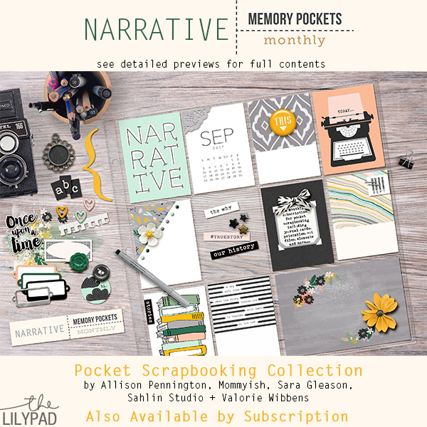 Memory Pockets Monthly : Narrative