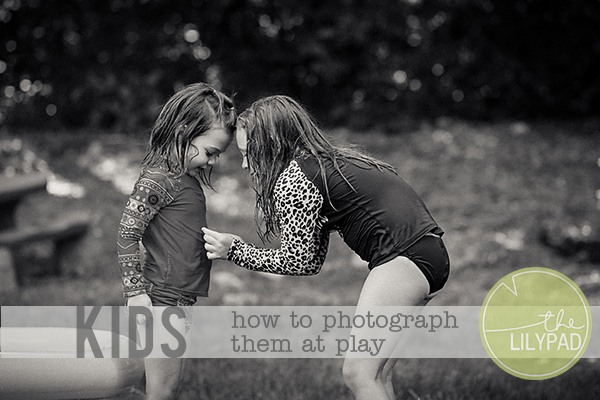 Tips for Photographing Children at Play
