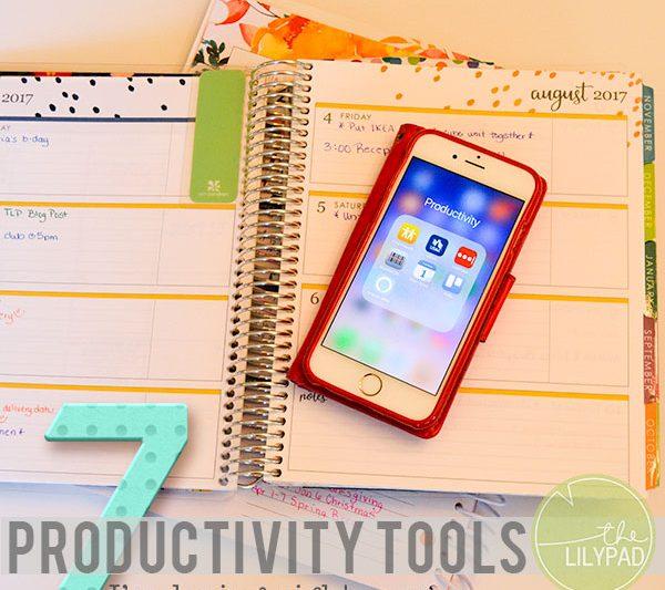 7 Productivity Tools I'm Loving Right Now