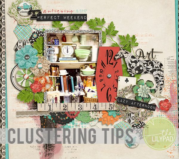 Realistic Clustering with Flat & Dimensional Embellishments