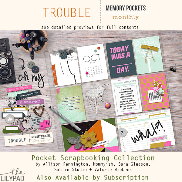 Memory Pockets Monthly : Trouble