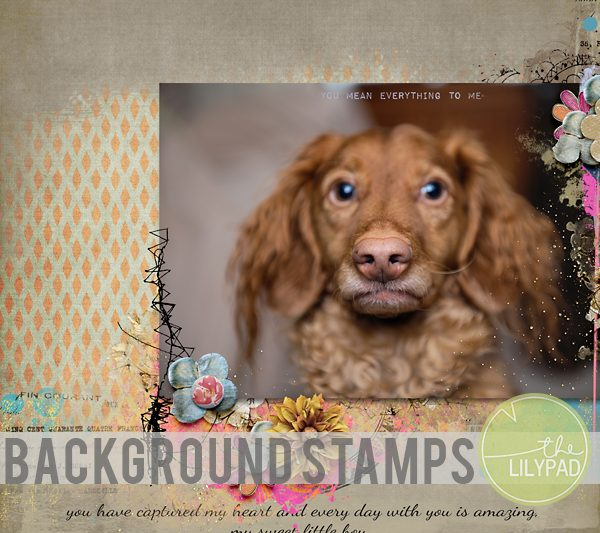 Background stamps