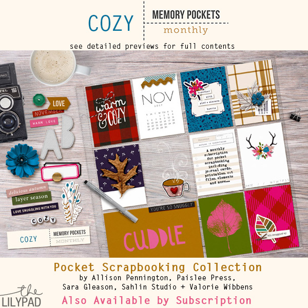 Memory Pockets Monthly : Cozy