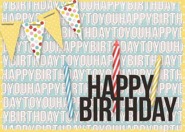 It's my birthday month!