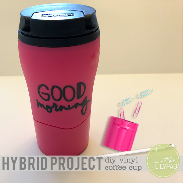 Hybrid Project: DIY Vinyl Coffee Cup