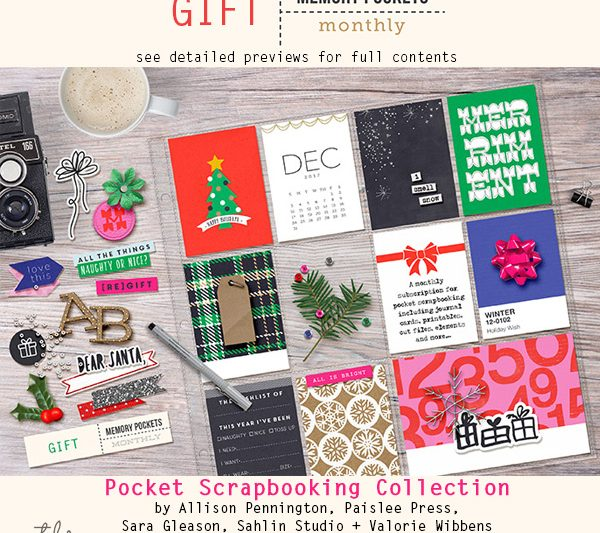 Memory Pockets Monthly : Gift