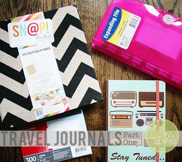 Travel Journals:  Part One