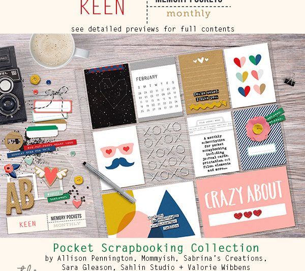 Memory Pockets Monthly : Keen