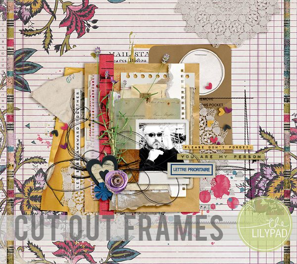 Create a Cut Out Frame in Photoshop/PSE
