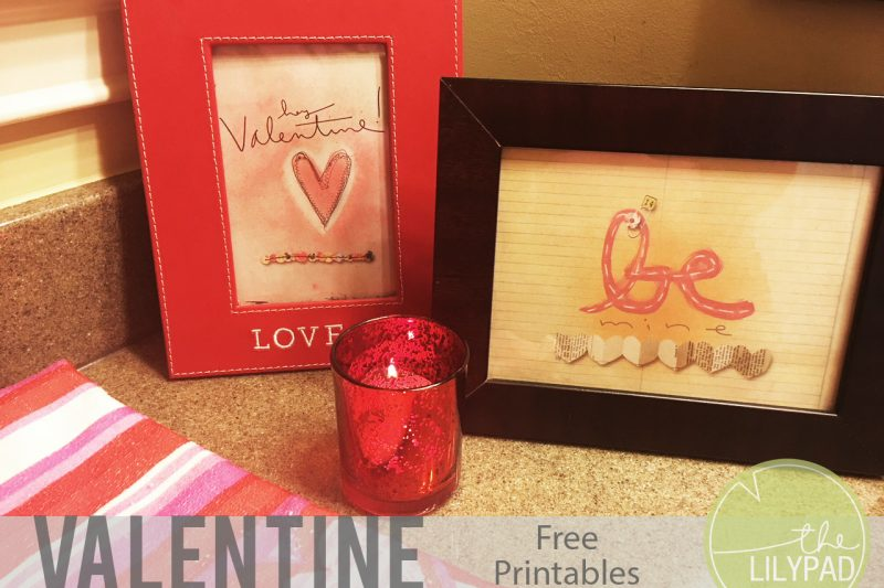 Free Valentines printables!