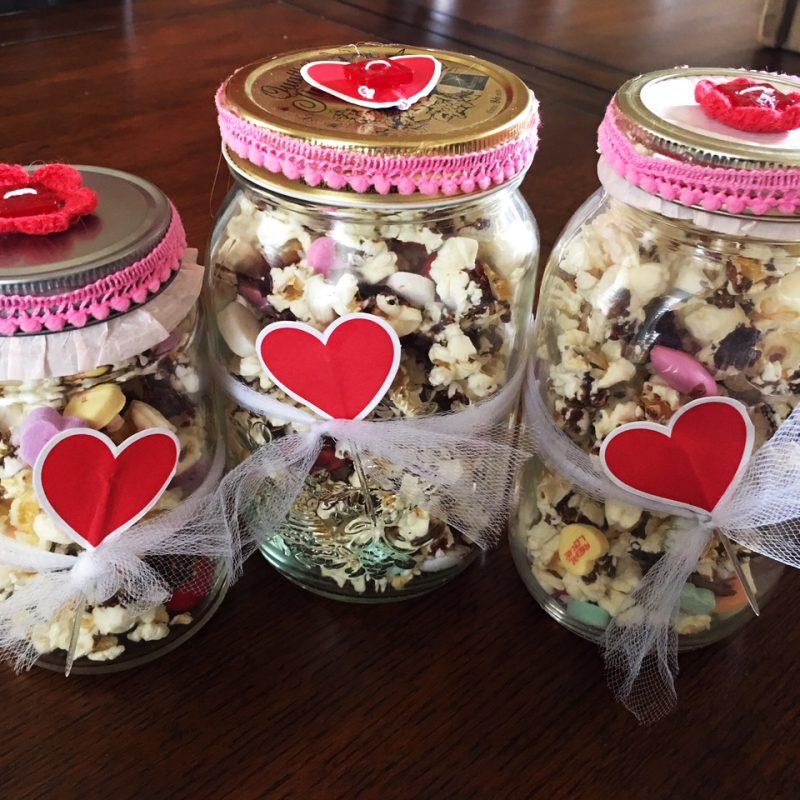 Valentine Popcorn Mix!