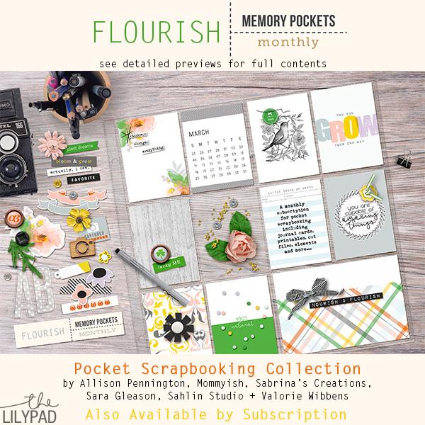 Memory Pockets Monthly : Flourish