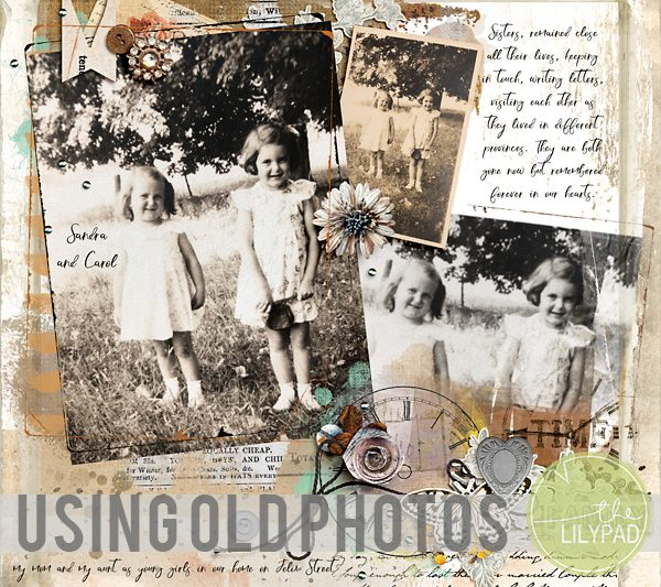 Using Old Photos