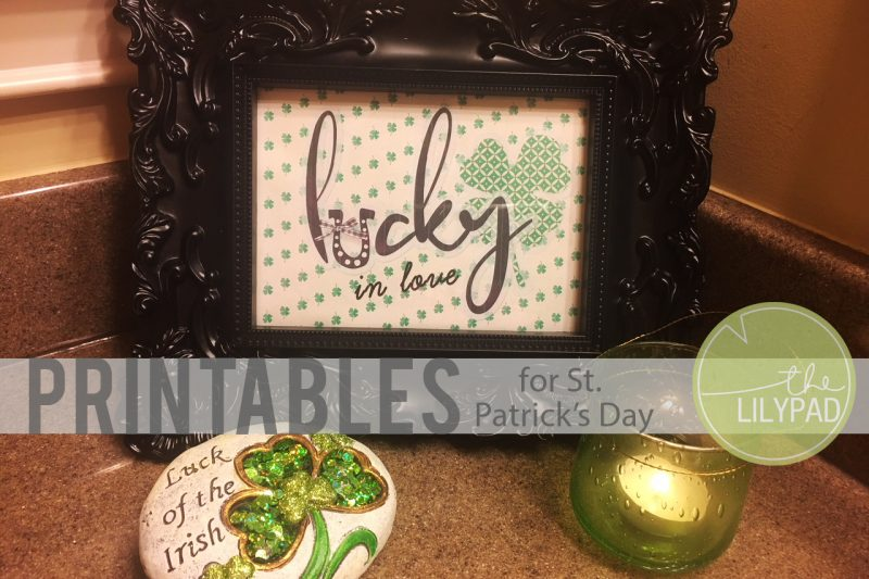 St. Patrick's Day Printables – How lucky are you!