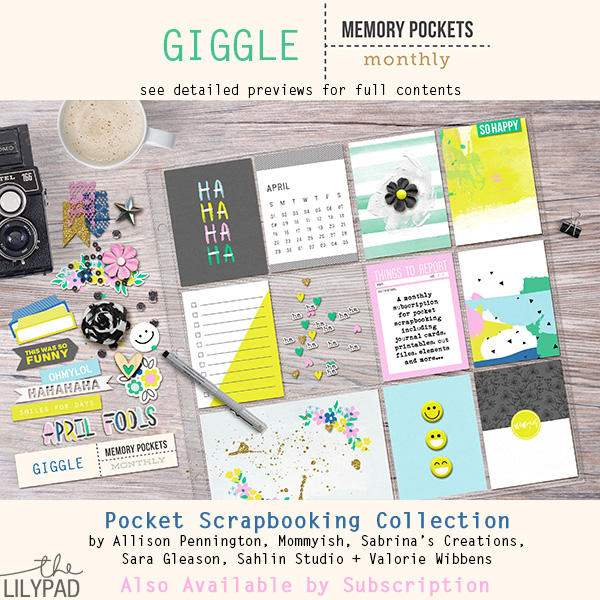 Memory Pockets Monthly : Giggle