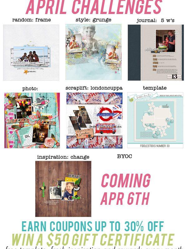 April Challenges