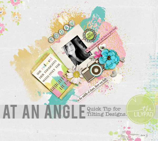 At An Angle – Tilting Designs in Photoshop and PSE