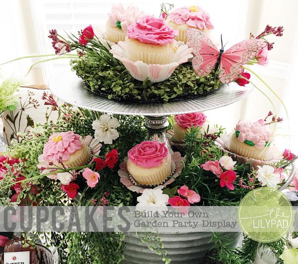 Cupcake Garden Display