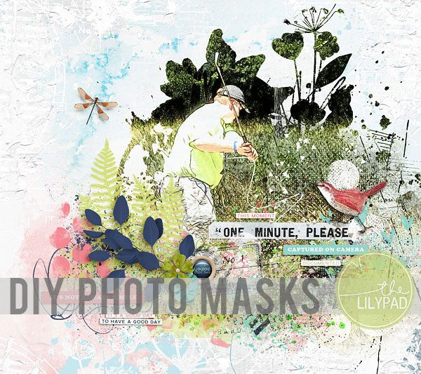 DIY Photo Masks in Photoshop