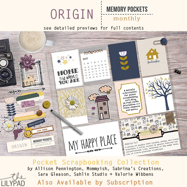 Memory Pockets Monthly : Origin