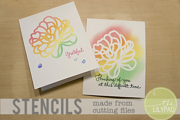 Using Cutting Files to Create Stencils