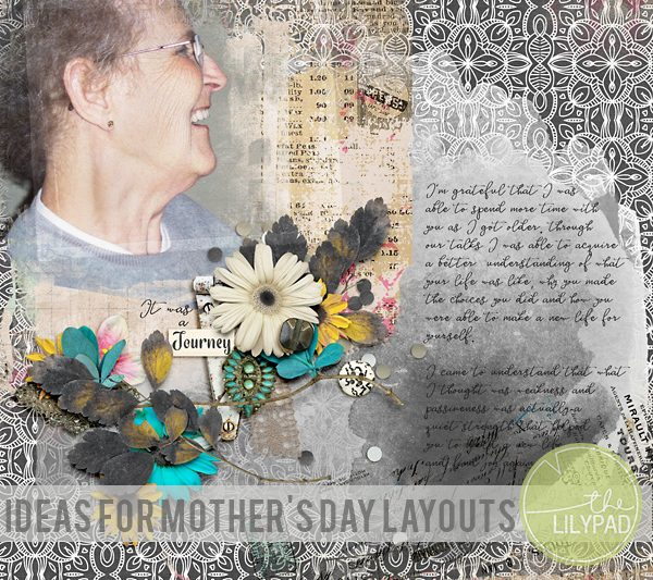 Ideas For Mother's Day Layouts
