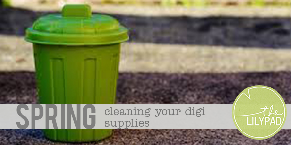 Spring Cleaning Your Digi Supplies