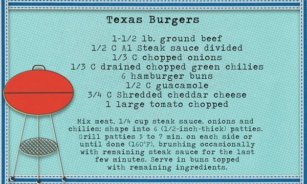 Amazing Burger recipe!