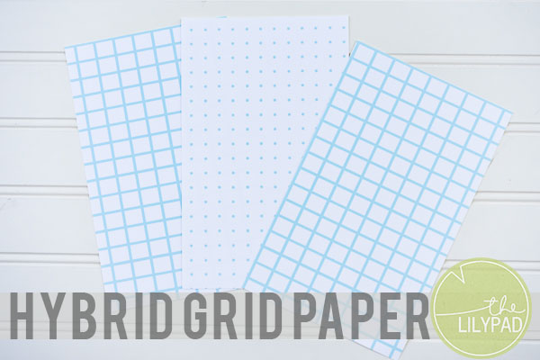 Customize Your Own Grid Paper